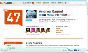 SugarFreeCoach on Klout