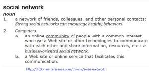 Social Network Definition